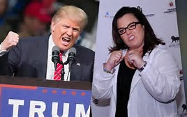 Donald Trump-Rosie O'Donnell at war